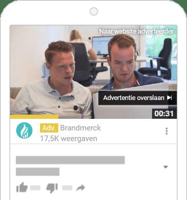 instream advertentie overslaan