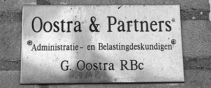 oostra & partners onderscheidend